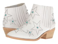 Chinese Laundry Fayme White Shanghai Leather Women's Pull On Boots