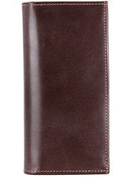 Whitehouse Cox Long Wallet Brown