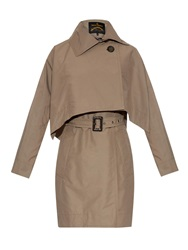Vivienne Westwood Windsor Removable Cape Trench Coat