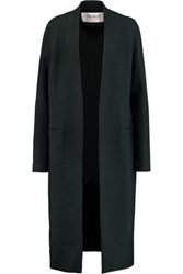 Amanda Wakeley The Apache Wool Blend Coat Emerald