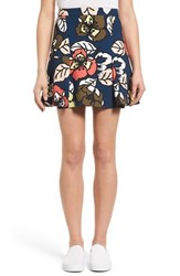 Women's Paul And Joe Sister 'Margot' Floral Print Miniskirt