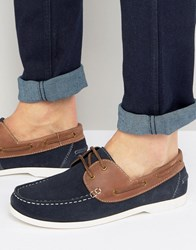 Silver Street Boat Shoes Navy Navy Blue