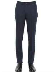 Lanvin Stretch Wool Jersey Pants