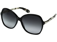 Kate Spade Jolyn S Black Gold Gray Gradient Lens Fashion Sunglasses