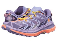 Hoka One One Speedgoat Corsican Blue Neon Coral Women's Running Shoes Purple