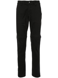 Kenzo Knee Pleat Detail Trousers Black