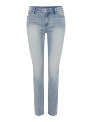 Armani Exchange Mid Rise Super Skinny Jean Denim Indigo