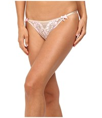 Agent Provocateur Gianna Tanga Brief Oyster Pink Women's Underwear Yellow