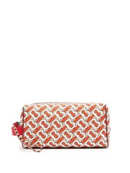 Burberry Monogram Technical Canvas Wash Bag Red Multi