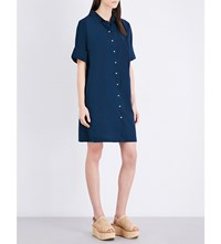 Mih Jeans Roller Cotton Dress Summer Navy