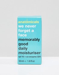 Anatomicals We Never Forget A Face Memorably Good Daily Moisturizer Spf 15 50Ml Clear