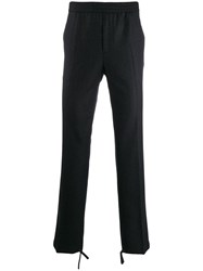Salvatore Ferragamo Drawstring Trousers Black