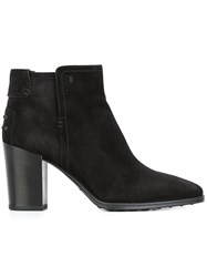 Tod's Ankle Boots Black