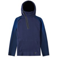 Nike Tech Fleece Long Hoody Blue