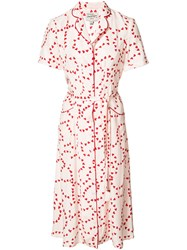 Harley Viera Newton Heart Print Dress Red