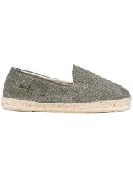 Manebi High Vamp Espadrilles Green