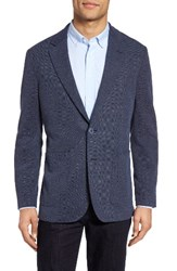 Bugatchi Men's Knit Sport Coat Navy