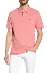 Vineyard Vines Regular Fit Pique Polo Jetty Red