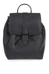Topshop Glasgow Mini Backpack Black