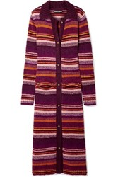 House Of Holland Striped Knitted Cardigan Multi