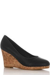 Oasis Connie Wedges Black