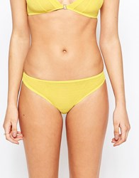 Lepel London Chelsea Brief Yellow
