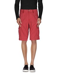 Napapijri Trousers Bermuda Shorts Men Garnet