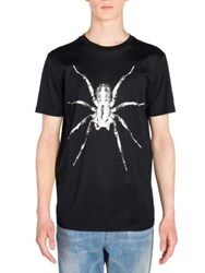 Lanvin Spider Graphic Print T Shirt Black
