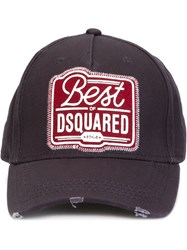 Dsquared2 Logo Baseball Cap Blue