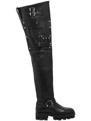 Alyx 40Mm Utility Over The Knee Leather Boots