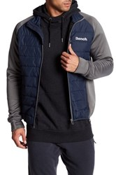 Bench Intellectual Thinsulate Topstitched Jacket Blue