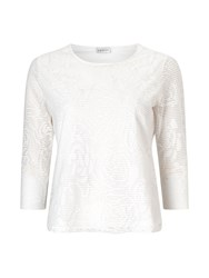 Eastex Lace Jacquard Jersey Neutral
