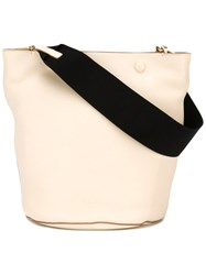 Marni Bucket Tote Nude And Neutrals