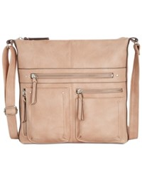 Inc International Concepts Riverton Large Crossbody Created For Macy's Dusty Rose