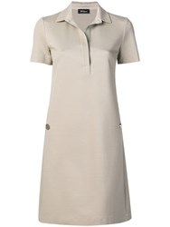Les Copains Polo Top Dress Neutrals
