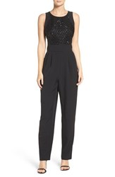 Vince Camuto Women's Embellished Stretch Crepe Jumpsuit