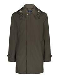 Aquascutum London Men's Clifton Coat Military Green