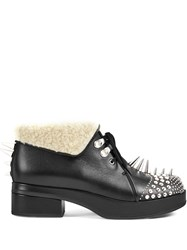 Gucci Studded Ankle Boots Black