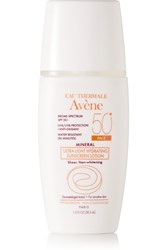 Avene Spf50 Mineral Ultra Light Hydrating Sunscreen Lotion