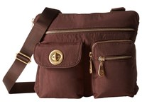 Baggallini Gold Sydney Java Handbags Brown