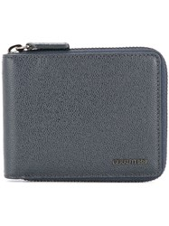Cerruti 1881 Zip Around Wallet Blue