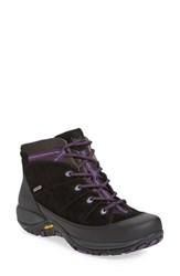 Dansko Women's 'Paulette' Waterproof Hiking Boot Black Suede