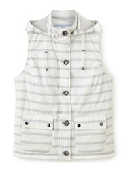Dash Stripe Gilet Neutral Neutral
