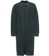 By Malene Birger Rinorra Wool And Mohair Blend Cardigan Green