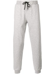 Mcq By Alexander Mcqueen Drawstring Track Pants Grey