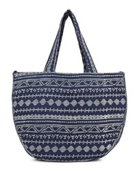 East Aztec Print Cotton Bag