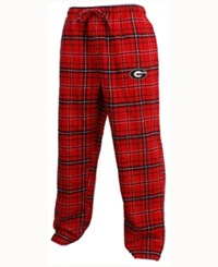 Concepts Sport Men's Georgia Bulldogs Ultimate Flannel Sleep Pants Red
