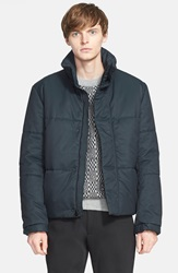 Patrik Ervell Quilted Puffer Jacket Bottle Green