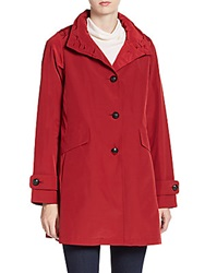 Jane Post A Line Trench Coat