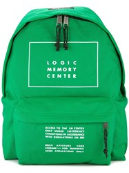 Undercover Iconic Memory Center Backpack Green
